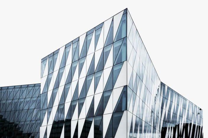 Saxo bank, Tuborg havn, arkitekturfotografi