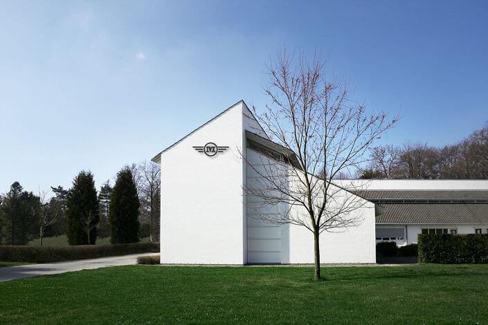 Arkitekturfotografi af domicil i Fredensborg