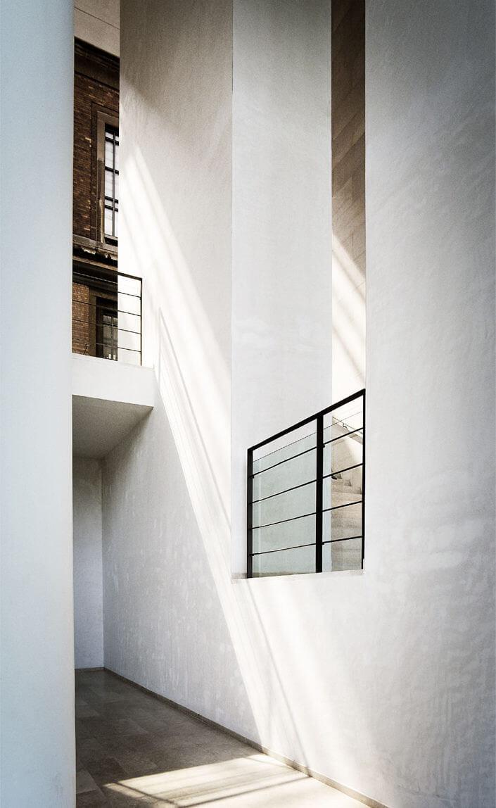 Arkitekturfotografi på statens museum for kunst