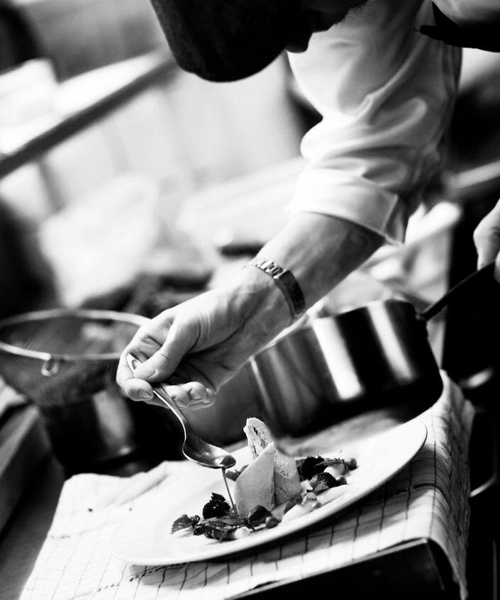 Kok, Stemningsfotografi fra Restaurant Århusgade No. 1